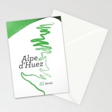 Famous Climbs: Alpe d'Huez 1, Modern Spring Stationery Cards