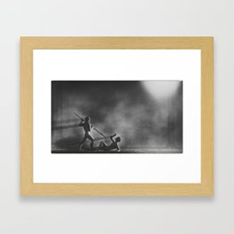 Day 0441 /// The Assassination ov MMXVI Framed Art Print