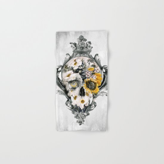 Skull Still Life Hand & Bath Towel