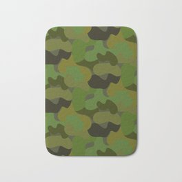 Colorful Camouflage Pattern Bath Mat