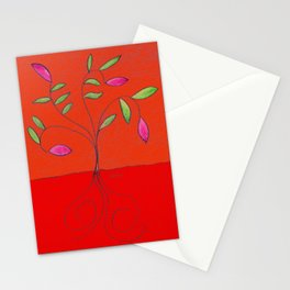 Surrealistic Bush Stationery Cards