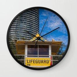 Lifeguard Hut Wall Clock