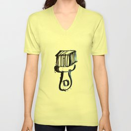 Brush Unisex V-Neck