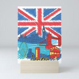London City Mini Art Print