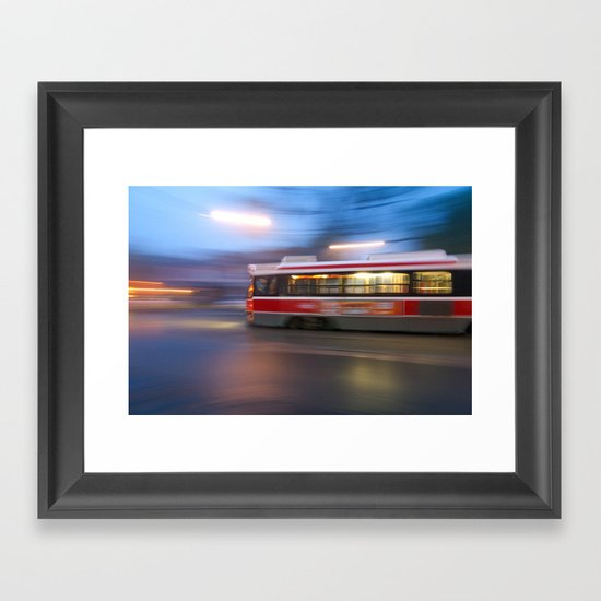 Steel in Motion Framed Art Print