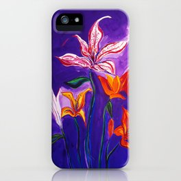 Heartland Summer Lily iPhone Case