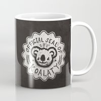 koala Mugs featuring Koala by Ronan Lynam