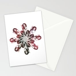 The House Of Kern - Burlesque Flower Stationery Cards