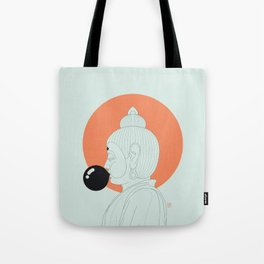 Buddha : Concentrate on the Void! Tote Bag