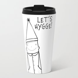 Scandinavian Hygge illustration art Travel Mug