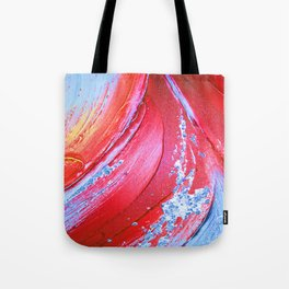 Acrylic Abstract on Canvas 3 Tote Bag