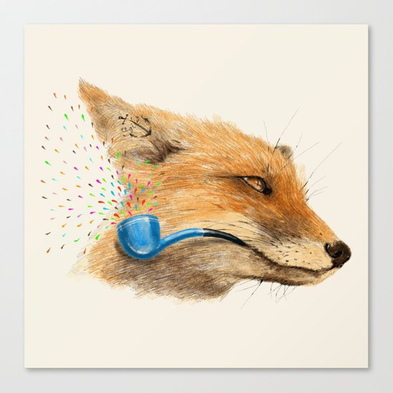 Fox V Canvas Print