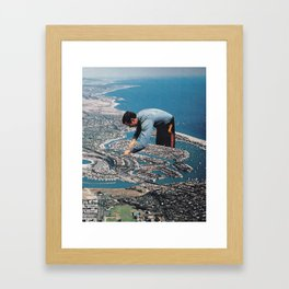 Urban Planning Framed Art Print