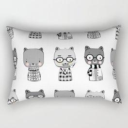 Cat Fashion Rectangular Pillow