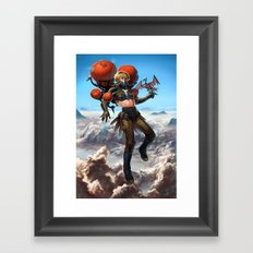 -Air- Framed Art Print