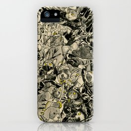 Dogs vs Cats iPhone Case