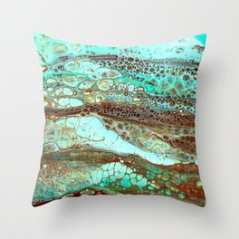 Abstract Annemarie Throw Pillow