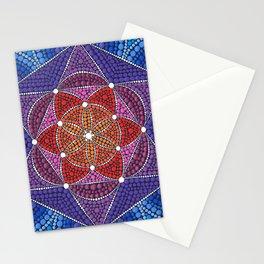 Creation Mandala Stationery Cards