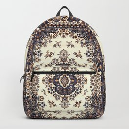 V8 Moroccan Epic Carpet Texture Design. Backpack