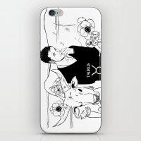 taurus iPhone & iPod Skins featuring Taurus by Cassandra Jean