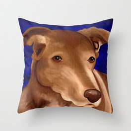 Lucky Dog Commision Throw Pillow