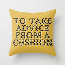 Banksy's Gross Domestic Product (Part 2 of 2) Throw Pillow