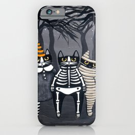 The Trick or Treat Gang iPhone Case