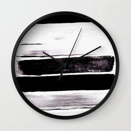 Stack V Wall Clock