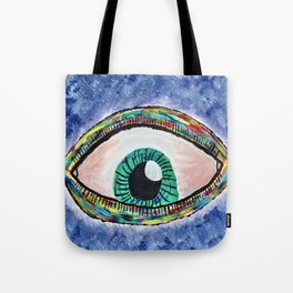 Technicolor Eye Tote Bag