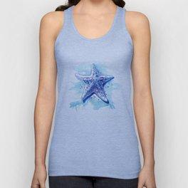 Starfish Waters I Unisex Tank Top