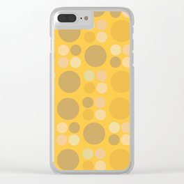 Lots o dots Clear iPhone Case