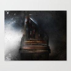Piandemonium - Piano à Guillotine Canvas Print