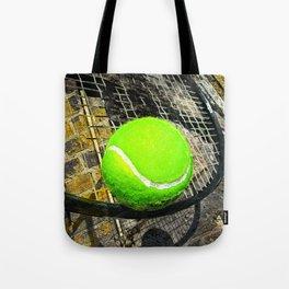 Tennis print work vs 2 Tote Bag