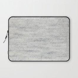 Gray Wool Laptop Sleeve