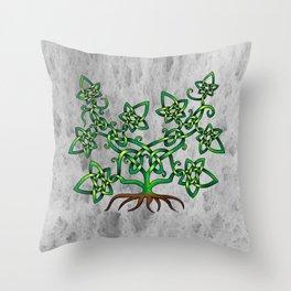 Ivy Knot Throw Pillow