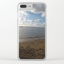mare in inverno Clear iPhone Case