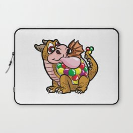 DRAGUM DRAGON BUBBLE GUM FUNNY CARTOON COMIC GIFT Laptop Sleeve