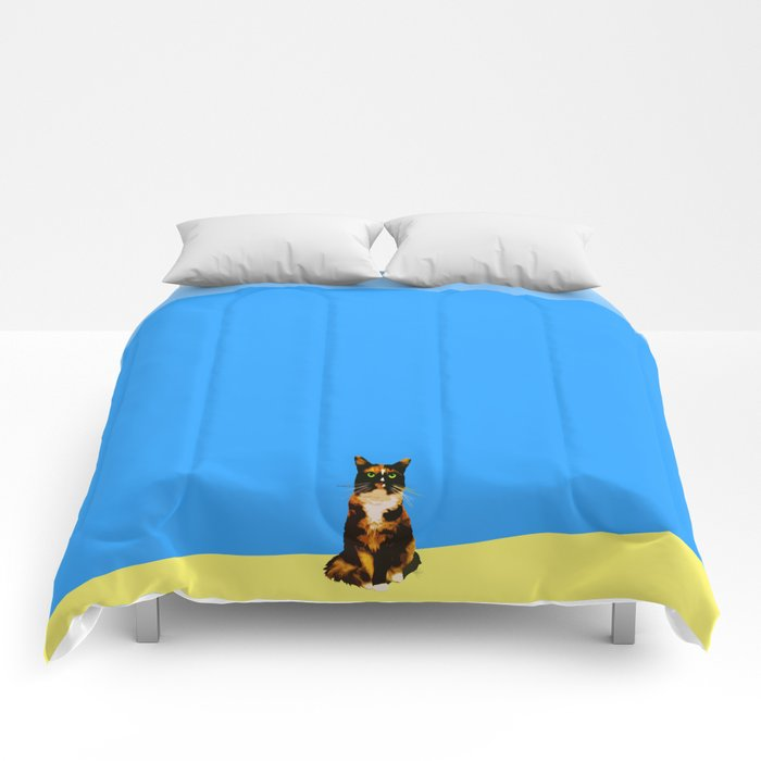 Blue Marmalade Comforters