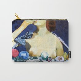 Double Breasted Carry-All Pouch