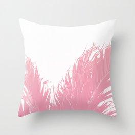 Pastel tropical fringe Throw Pillow