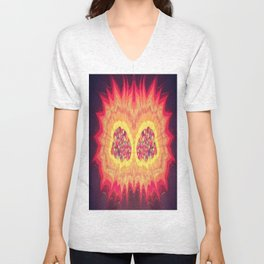 The Creator Of It All Unisex V-Neck