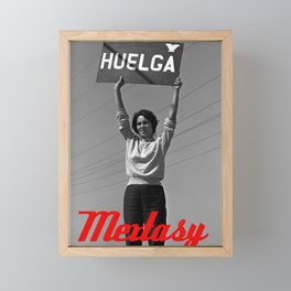 Chicana Activist Hall of Fame Framed Mini Art Print