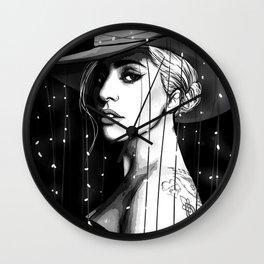JOANNE B&w Wall Clock