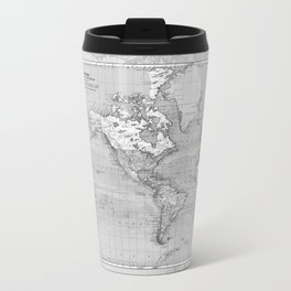 Atlas of the World Metal Travel Mug