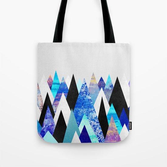 Blue Peaks Tote Bag