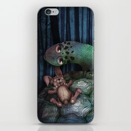 '龜兔再賽跑 The Tortoise and the Hare: Rematch' cover Illustration iPhone Skin