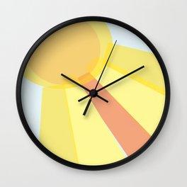 Sun Is Shining Wall Clock