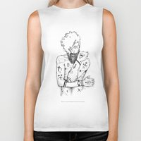 the dude Biker Tanks featuring Dude by LSjoberg