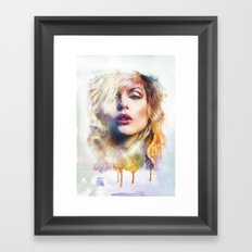 Blondie Framed Art Print