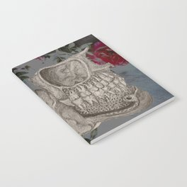 Skeleton and Roses Notebook